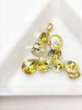 SHINE- Jonquil LS- Mix Pointed Back Crystals #212Mix Packs 10 pcs