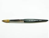 Hexagon Professional Acrylic Brush- Size 20- Made In Japan 100% Kolinsky