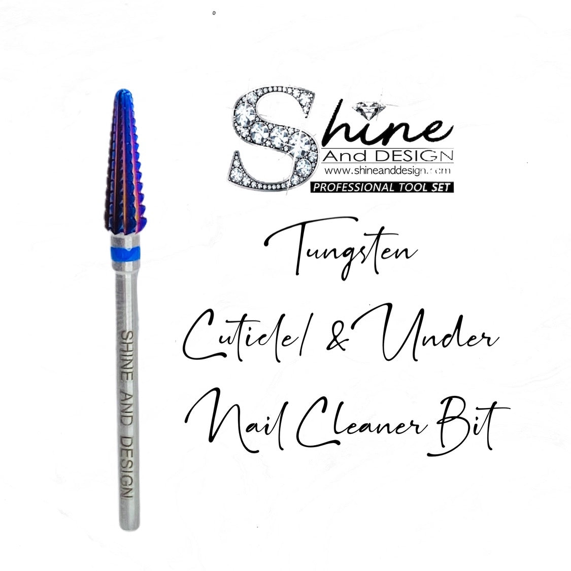 SHINE- Under The Nail Cleaner (UNC) Bit- MEDIUM