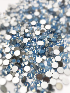 SHINE- Air Blue Opal- Mix Foil Back Crystal Rhinestones #166