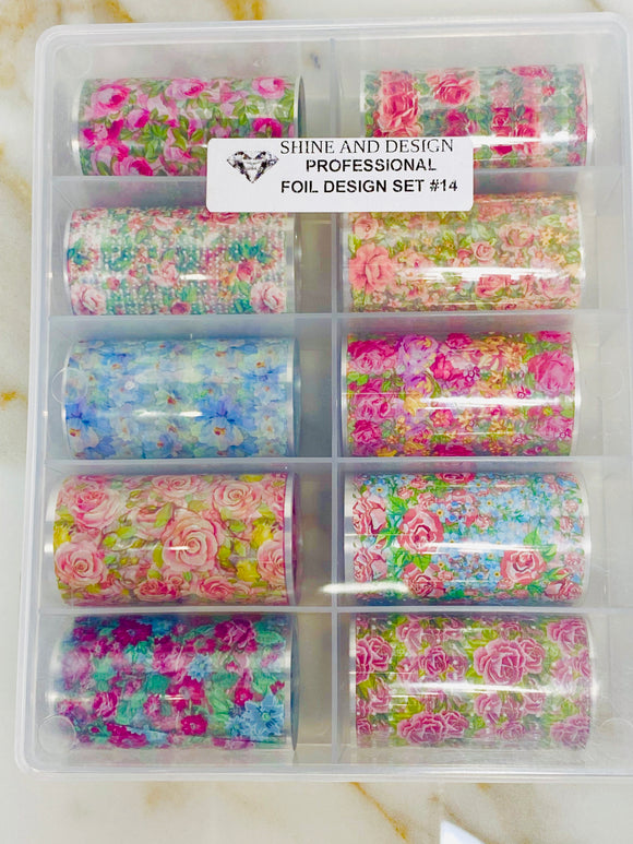SHINE- Transfer Foil Stamping Designs- Set #14