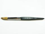 Hexagon Professional Acrylic Brush- Size 16- Made In Japan 100% Kolinsky