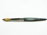 Hexagon Professional Acrylic Brush- Size 18- Made In Japan 100% Kolinsky
