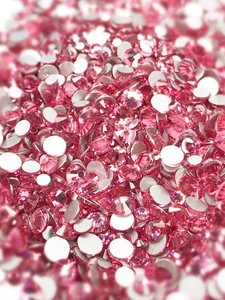 SHINE- Light Rose -Mix Foil Back Crystal Rhinestones #143