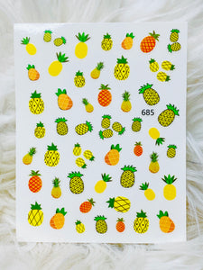 "SHINE #F685  ""FRUITY-STICK iT""- Vinyl Stickers"