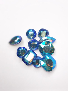 SHINE- Sapphire SI- Mix Pointed Back Crystals #217