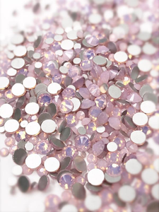 SHINE- Rose Opal- Mix Foil Back Crystal Rhinestones #165