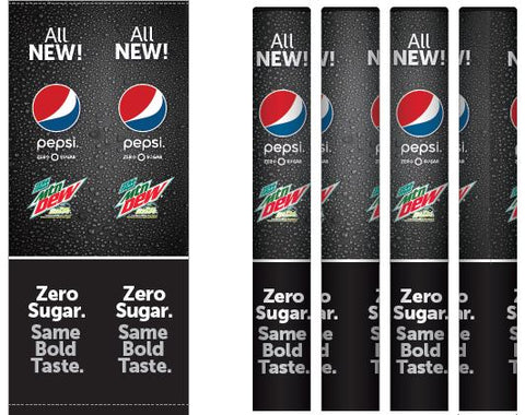 Taco Bell-Pepsi 0 Sugar drink Wrapcover