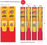 Pepsi-KFC Sweet Lighting Wrapcover