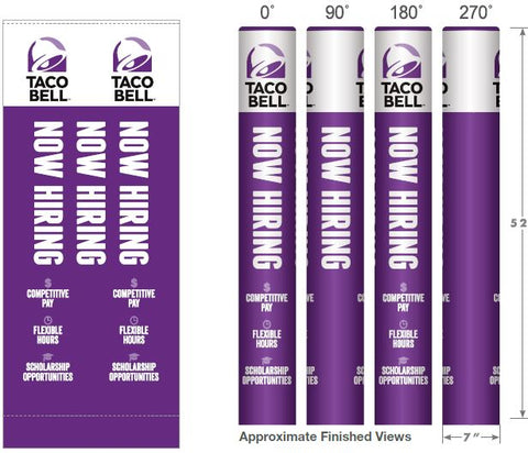 Taco Bell Now Hiring Wrapcover for franchisees