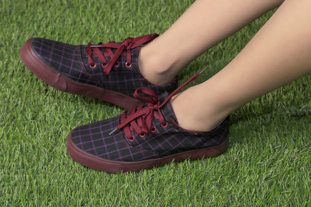 Jootavoota Women WineRed Casual Shoes (NKL-98)