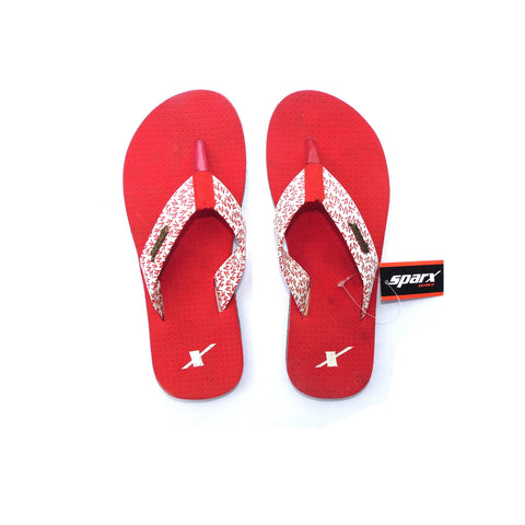 Sparx Women Red Flip Flop (SFL-558)