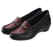 Jootavoota Women Cherry Wedges Loafers (6502)