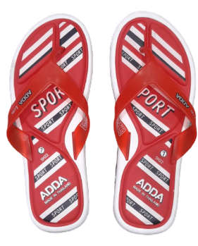 Adda Womens White Red V.Shape (Pihu-7)