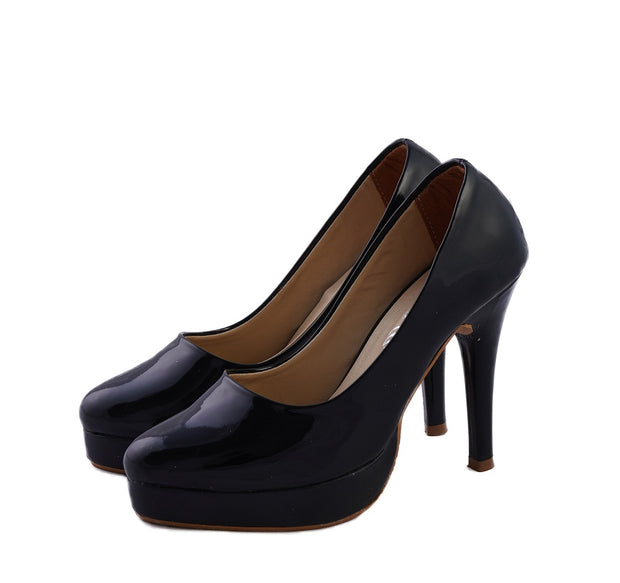 Jootavoota Women Black Heels Belly (987)