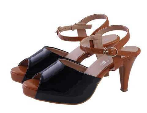 Jootavoota Black  Heel For Women (H-25)