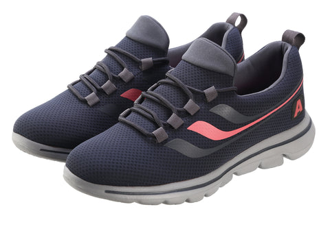 Jootavoota Women Dark Grey Sports Shoes (T2656)