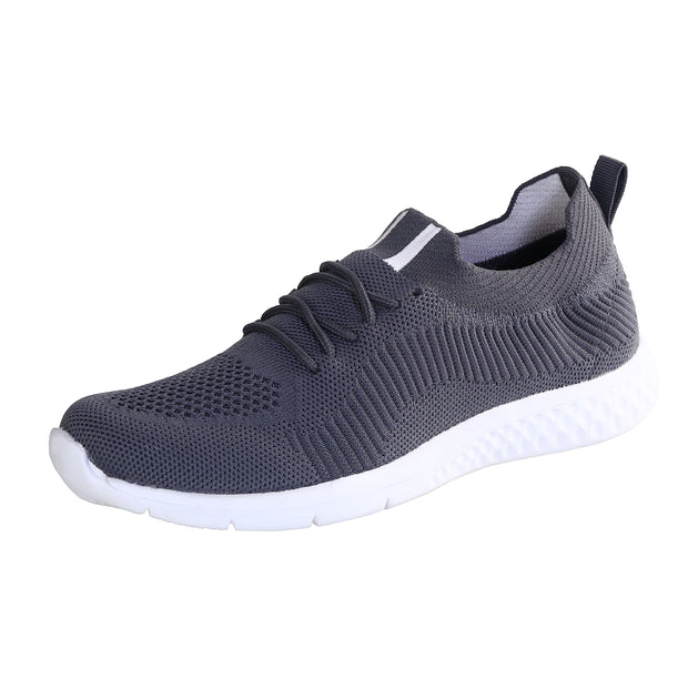 JOOTAVOOTA Women's & Girl's Casual Shoes | Stylish Athletic Shoes | Running Lightweight Breathable Shoes | Walking Shoes |Sock Sneakers | (Grey Color)