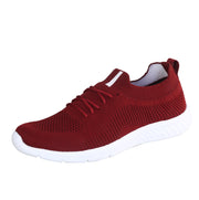 JOOTAVOOTA Women's & Girl's Casual Shoes | Stylish Athletic Shoes | Running Lightweight Breathable Shoes | Walking Shoes |Sock Sneakers | (Maroon Color)