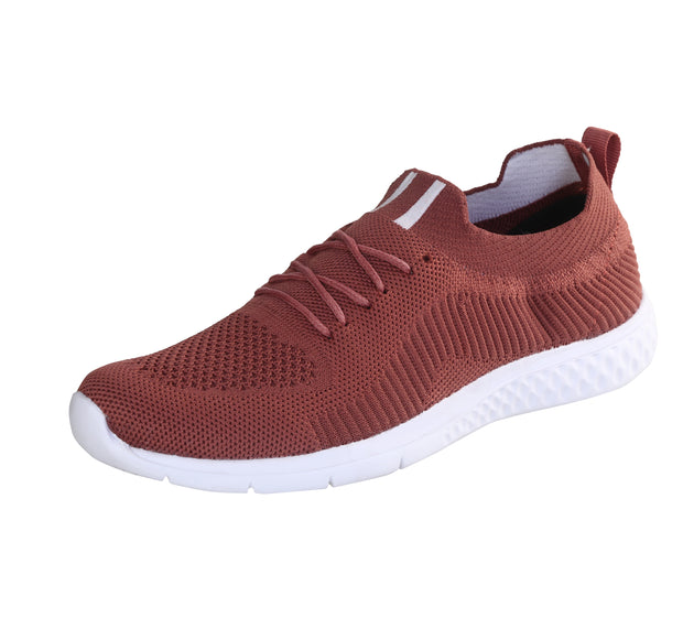 JOOTAVOOTA Women's & Girl's Casual Shoes | Stylish Athletic Shoes | Running Lightweight Breathable Shoes | Walking Shoes |Sock Sneakers | (Peach Color)