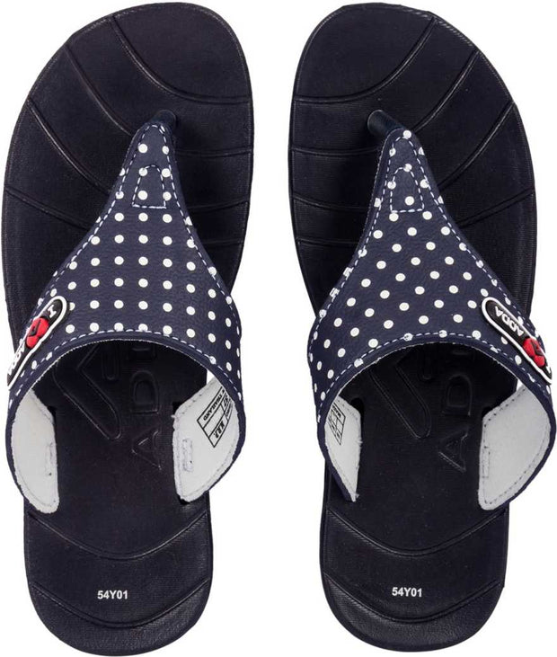 Adda Women Navy Slippers (Awesome-1)