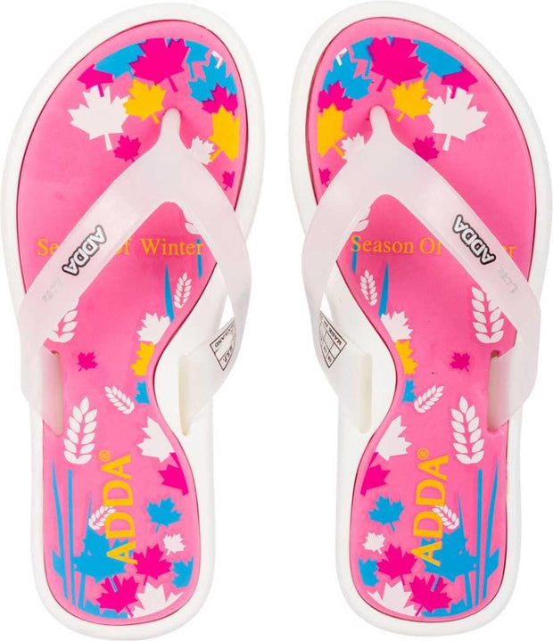 Adda Women Pink Slippers (Mini-1)