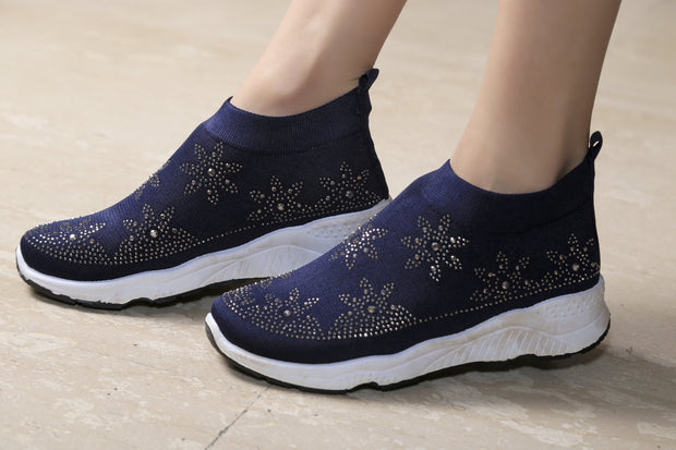 Jootavoota Women Navy Sport Shoes (RP-19RP-27)