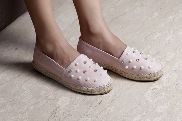 Jootavoota Women Pink Loafers (1Q-888-3A)