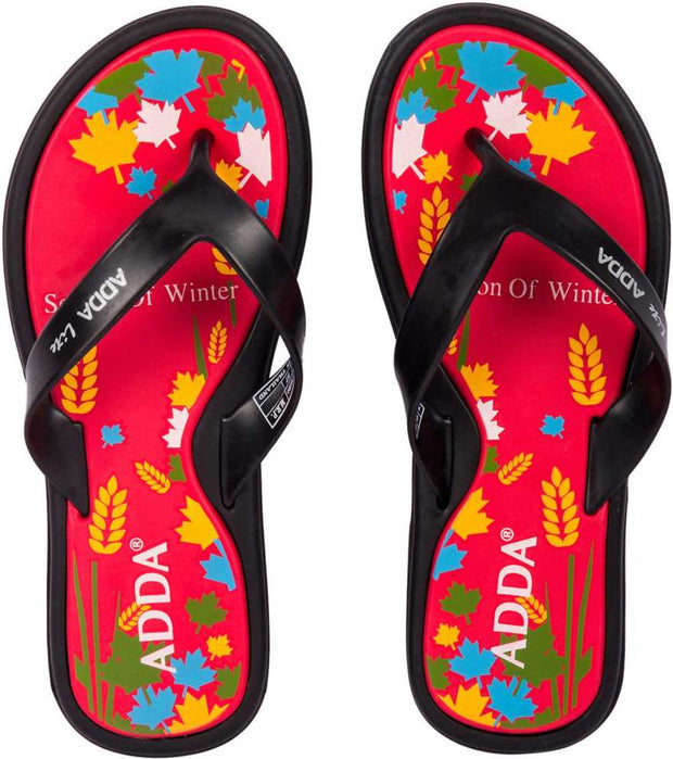 Adda Women Red Slippers (Mini-1)