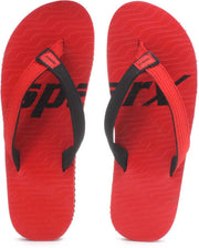 Sparx Kids Red Black Flip Flop (SFU-204)