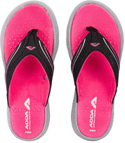 Adda Women Pink Grey Slippers (Xtrasoft-4)