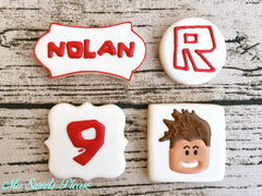 Decorated Sugar Cookie Roblox Character Personalized