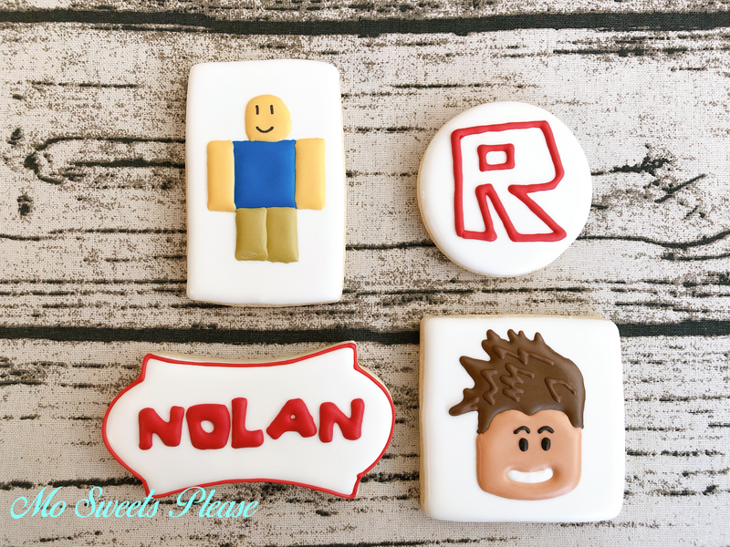 Decorated Sugar Cookie Roblox Character Noob Gamer