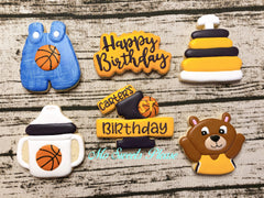 1st Birthday Basketball Theme