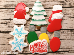 Decorated Sugar Cookie Christmas
