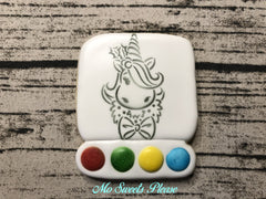 Christmas Unicorn Paint Your Own (PYO)