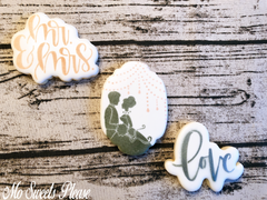 Decorated Sugar Cookie Wedding Bride Groom