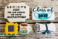 Graduation Quarantine 5 Cookie Set