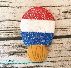 4th of July Popsicle Decorated Sugar Cookie
