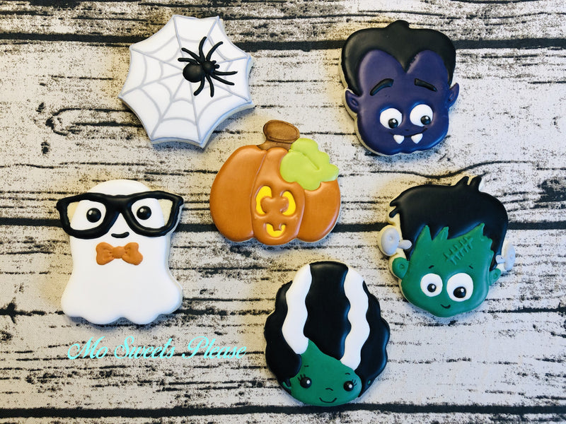 Halloween Assortment 6 Cookies