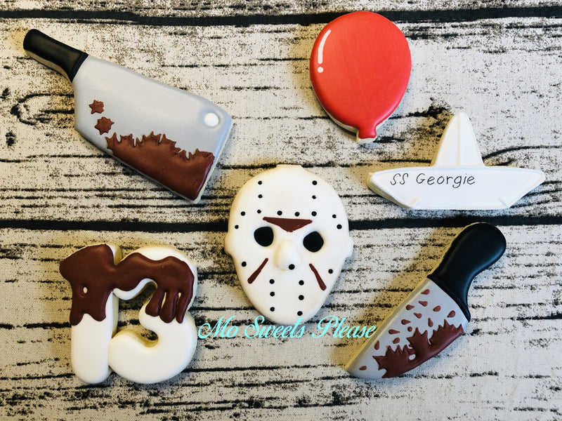 Horror Movie Cookies