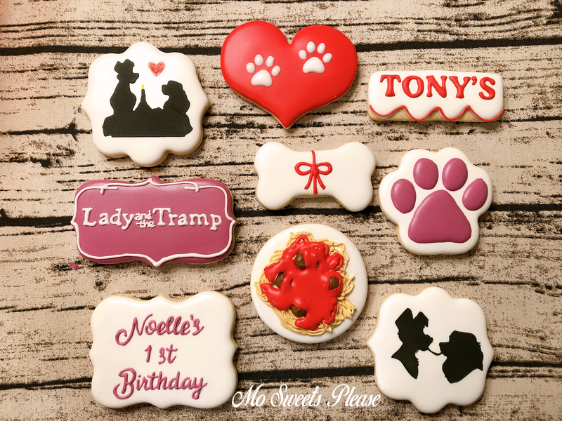 Decorated Sugar Cookie Lady and the Tramp