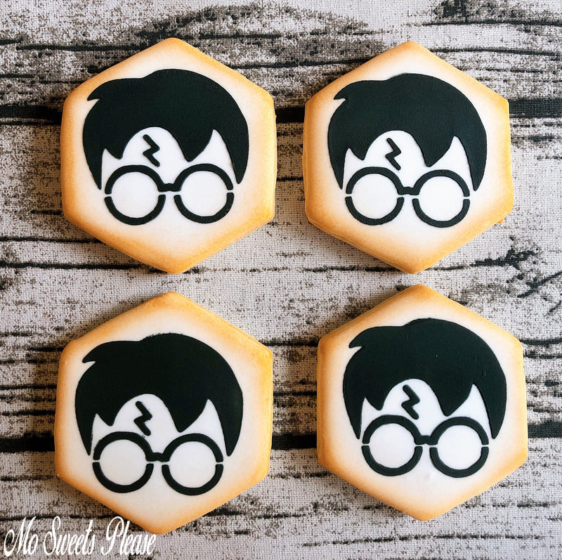 Harry Potter Muggle Always Decorated Sugar Cookie