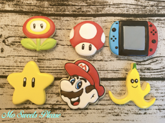 Decorated Sugar Cookie Mario Kart Super Mario Switch Gaming