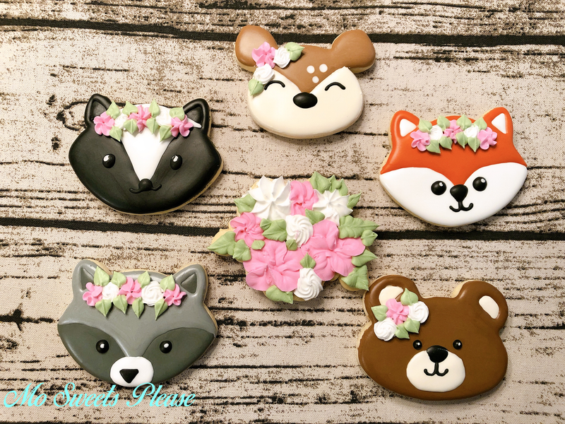 Woodland Friends Floral