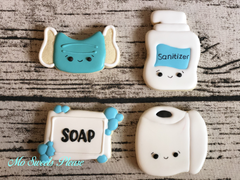 Pandemic / Quarantine  Cookies (Mask, Sanitizer, Soap, TP)