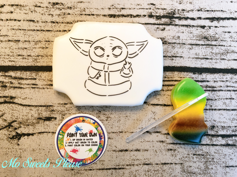 Baby Yoda Paint Your Own (PYO)