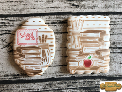 Back to School Teacher Decorated Sugar Cookies
