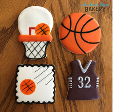 Basketballs and Jersey