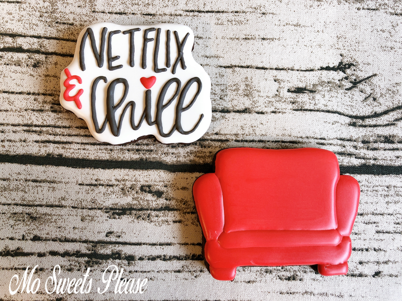 Decorated Sugar Cookie Netflix Chill Movie